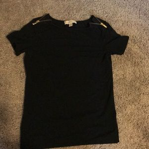 Black Michale Kors T-shirt